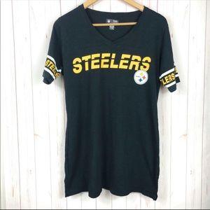 NFL Steelers Black T-Shirt Size M